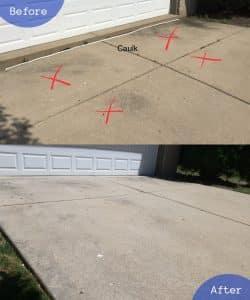 driveway raising