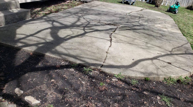 St Charles patio restoration