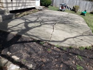 St Charles patio restoration
