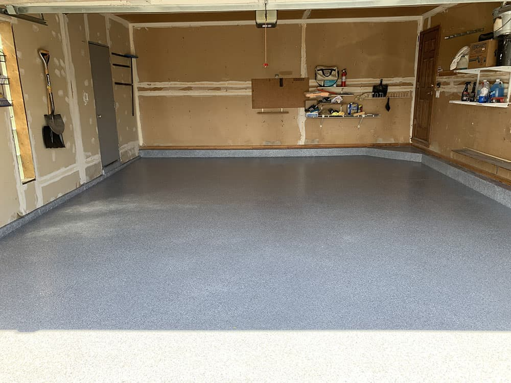 naperville garage epoxy flooring