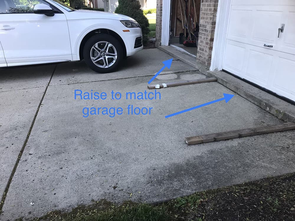 bartlett driveway raising