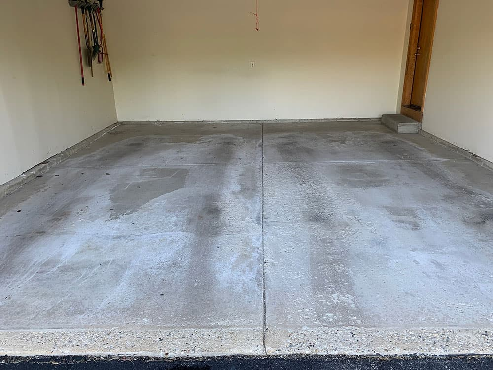 St Charles epoxy garage floor coating