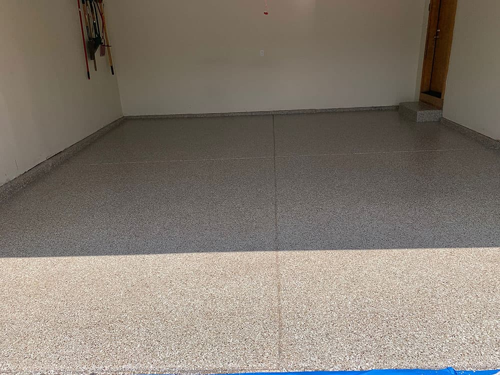 st charles epoxy garage floor
