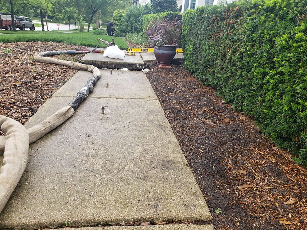Wheaton walkway repair