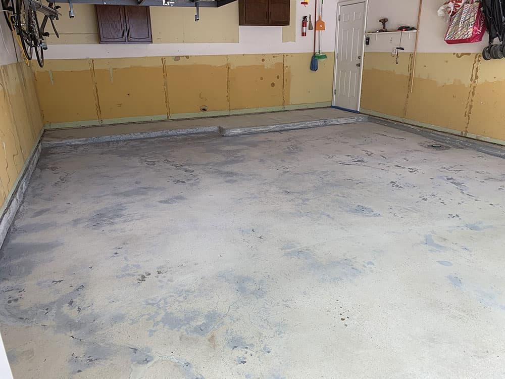 Arlington Heights epoxy coating floor